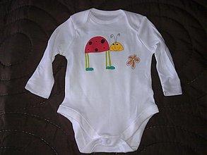 Detské oblečenie - lienočkové body - 3593217