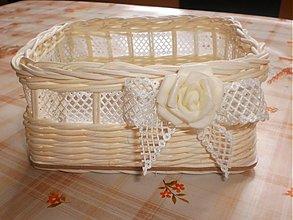 Košíky - Nevestin šperkovníček - 3594790