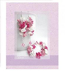 Sady šperkov - Nežne ružová set - 3594831