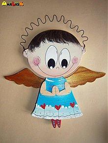 Dekorácie - Modliaci anjelik - 3599074
