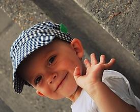 Detské čiapky - ŠILTOFKA bez plachtičky - na objednávku - 3600422