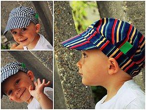 Detské čiapky - ŠILTOFKA bez plachtičky - na objednávku - 3600428
