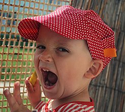 Detské čiapky - ŠILTOFKA bez plachtičky - na objednávku - 3600462