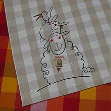 Úžitkový textil - NA HLAVĚ - napron 100x100 - 3600975