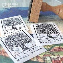 Drobnosti - Strom v rámečku: pečiatka: 3x4 cm - 3602500
