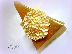 Darčeky pre svadobčanov - Hortenzia s vôňou vanilky... - 3602593