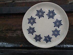 Nádoby - Tanier Hviezda ornament   28cm - 3604566