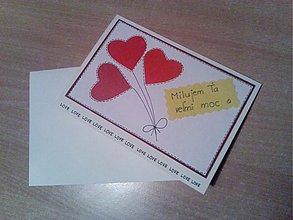 Papiernictvo - Valentínska pohľadnica. - 3607271