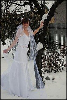 Šaty - Snehová mandala - 3608840