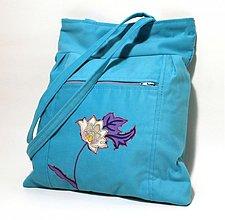 Veľké tašky - Elegant - kvet - 3608929