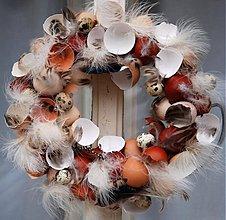 Dekorácie - s pierky z labute - 3609010