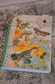 Papiernictvo - Zápisník Carte Postale - 3609510