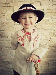 Detské oblečenie - folklórna košeľa pre Janíčka - 3615353