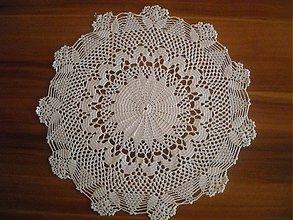 Úžitkový textil - Háčkovaná dečka H - 3618076