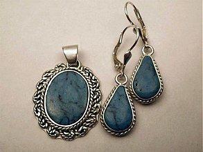 Sady šperkov - Blue, ó mami blue - AG 925 - 3624406