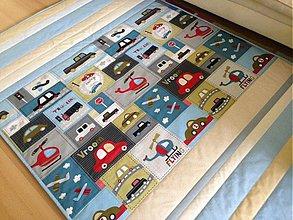 Úžitkový textil - Autíčková deka - 3624790