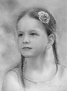 Kresby - portrét na objednávku - 3626699