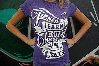 Tričká - Learn Rules - 3634001