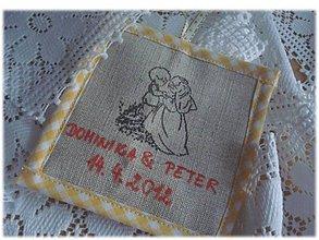 Darčeky pre svadobčanov - ♥♥♥Darček pre svadobných hostí♥♥♥ - 3635087