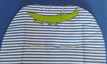 Textil - Nášivka krokodíl - 3637951