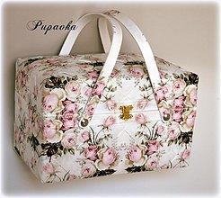 Košíky - Vintage roses - 3638736