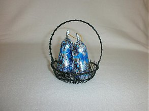 Dekorácie - Košíček malý okrúhly - 3643731