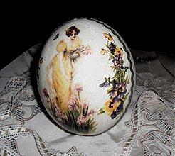 Dekorácie - Pštrosie vajce IV. - 3647256