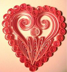 Papiernictvo - Srdiečko z lásky - 3648757