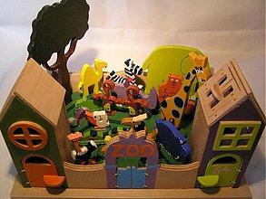 Hračky - Zoo - drevená hračka pre deti od 3 rokov - 365076