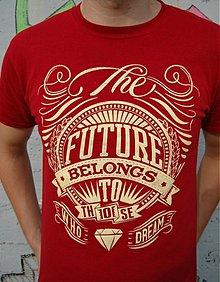 Oblečenie - Pánske tričko Future - 3655761