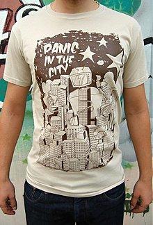 Oblečenie - Pánske tričko Panic - 3656110