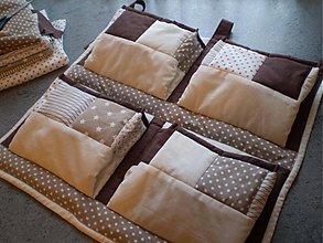 Textil - Vreckár čokoládkovo-vanilkový - 3656663