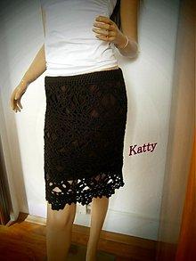 Sukne - čokoládová sukňa - 3658349