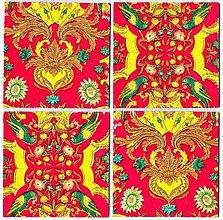 Úžitkový textil - Podložka pod pohár - 3659338