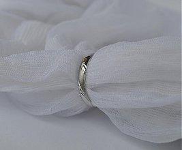 Prstene - Závoj vo vetre v bielom - 3660724