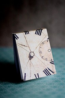 Papiernictvo - Miniblok Hodiny - 3661382