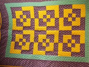 Textil - Patchworkova dečka - 3667790