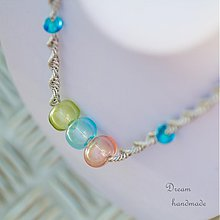 Náhrdelníky - Dívám se dívám - náhrdelník - 3668282