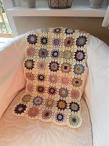 Textil - Deka - štvorčeky - 3669414