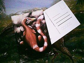 Papiernictvo - Šťastný Sinosauropteryx :) - 3670044