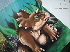 Papiernictvo - Triceratopsiatko :) - 3670128