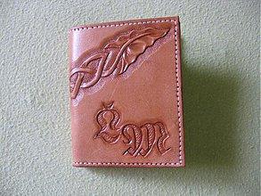 Peňaženky - Peňaženka na mince a kreditky - 3671488
