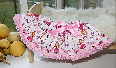 Detské oblečenie - Princezničková suknička - 3672747