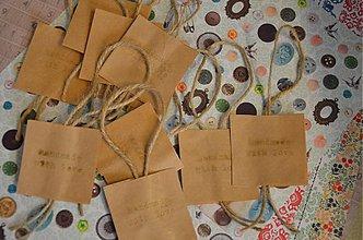Papiernictvo - Recyštítky Hand made with love 10 ks - 3676347