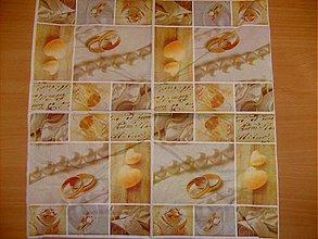 Papier - svadobná - 3676403