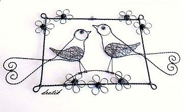 Dekorácie - Vtáčatká....obrázok - 3676481