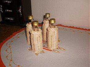 Nádoby - Opletaná fľaška- 0,4 ml - 3677082