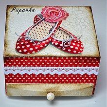 Krabičky - Balerínky - 3679433