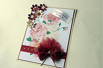 Papiernictvo - Narodeninová pohľadnica pre Zuzku - 3682292