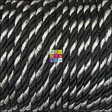 Galantéria - (3118) Twisterová snúrka, 4 mm - 1 meter - 3688279